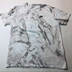 Nike Air Marble Print Goddess of Victory T-shirt